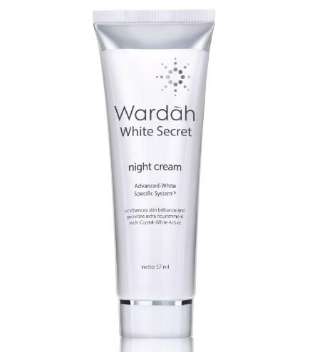 Gambar Wardah White Secret Night Cream